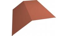 Коньки для кровли из металлочерепицы в Муроме Планка конька 190х190