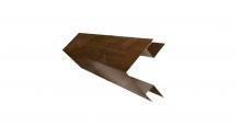 Доборные элементы (Блок-хаус/ЭкоБрус) Grand Line в Муроме Планка угла внешнего сложного (ЭкоБрус)