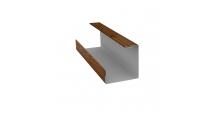 Доборные элементы (Блок-хаус/ЭкоБрус) Grand Line в Муроме Планка угла внутреннего составная нижняя