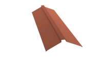 Коньки для кровли из металлочерепицы в Муроме Планка конька плоского 150х40х150