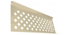 Модульные ограждения Эстет плюс в цвете ral 7024/1013 Grand Line в Муроме Полотно декоративное