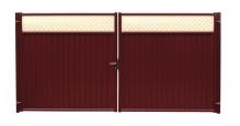 Модульные ограждения Эстет плюс в цвете ral 7024/1013 Grand Line в Муроме Ворота
