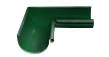 Металлическая водосточная система Grand Line 125/90 в цвете ral 3005 эластичная в Муроме Угол внутренний 90 градусов